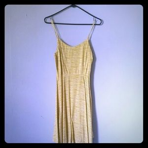 Mustard yellow dress in very good condition.